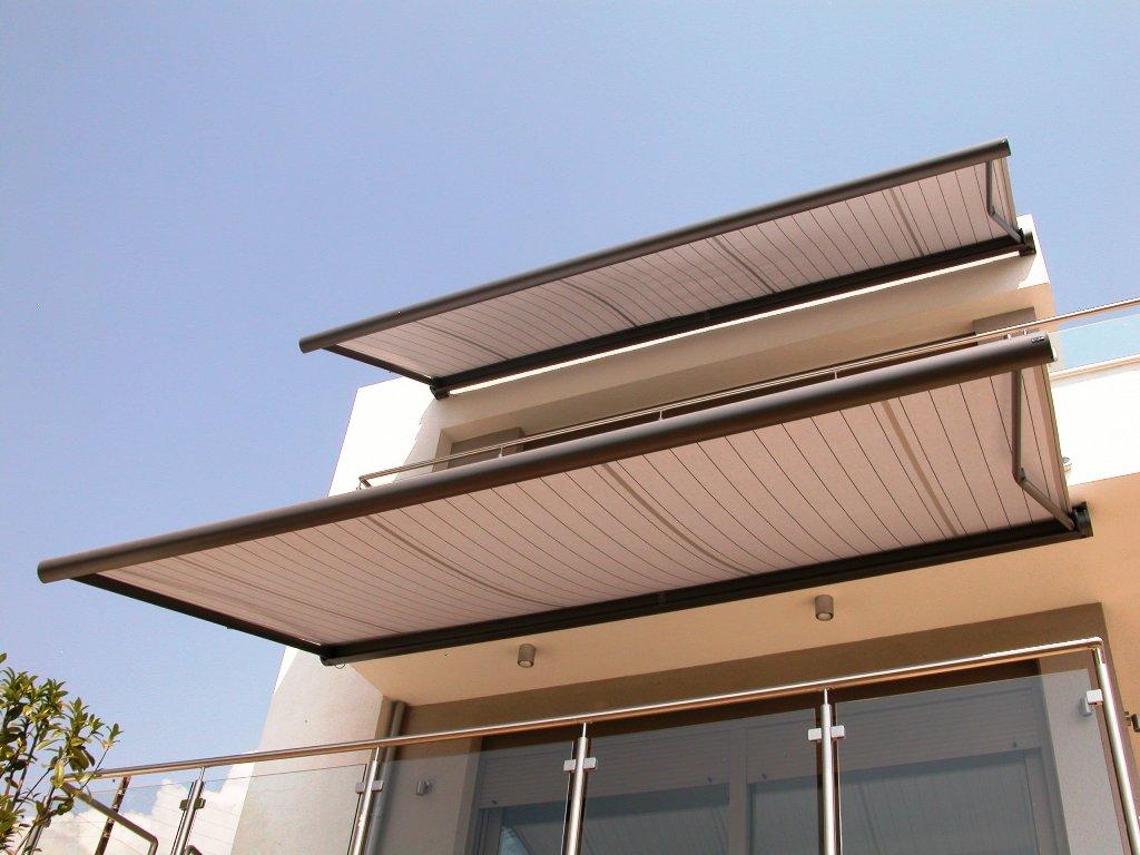Tende da sole a caduta per balconi