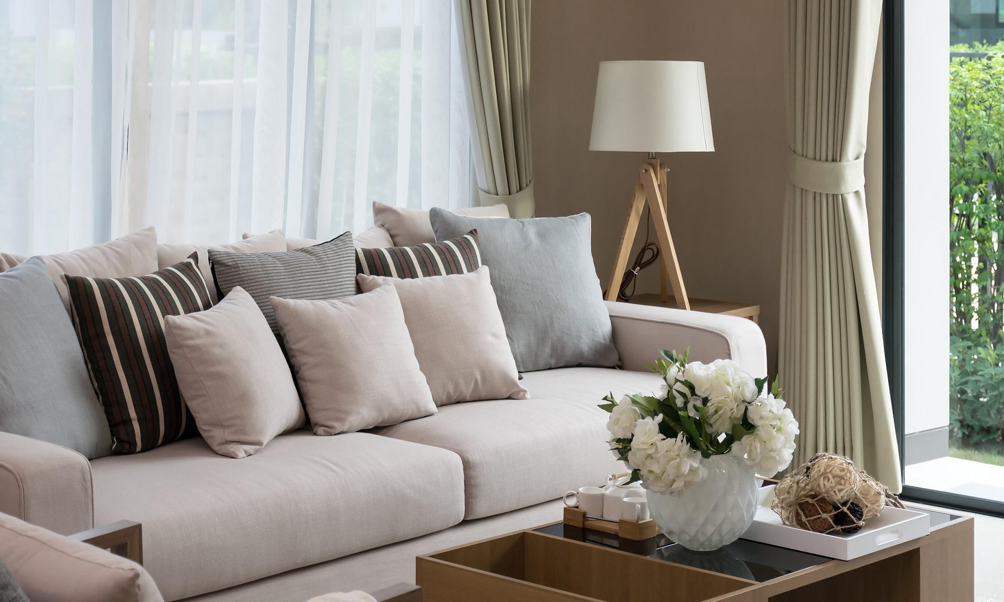 Tessuti per cuscini divani